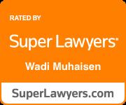 Wadi Muhaisen Superlawyers Badge